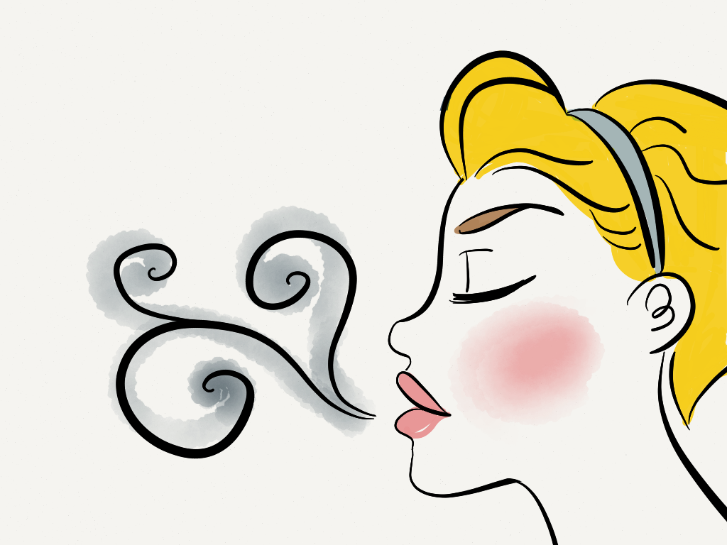 Breathing clipart meditation. Stress and mindfulness page