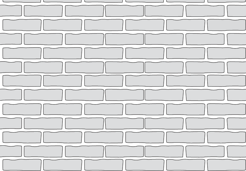 drawing bricks