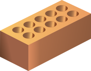 Brick clipart. By
