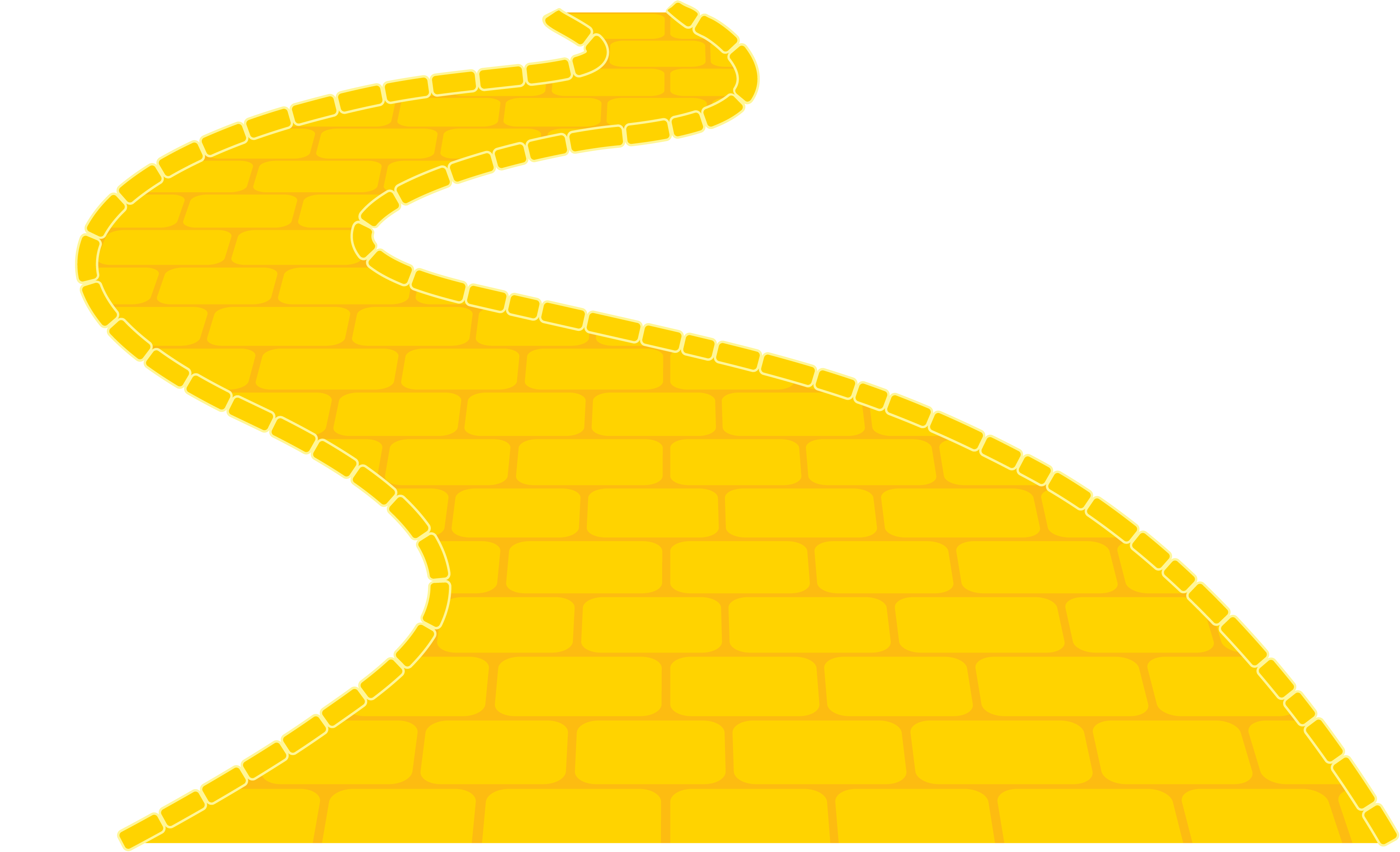 Brick clipart brick road.