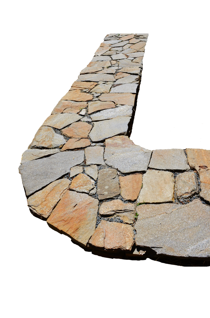 Stone path png. Stock photo by annamae
