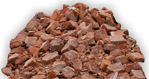 brick rubble png