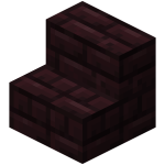 Brick steps png. Stairs official minecraft wiki