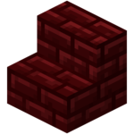 Stairs transparent red. Official minecraft wiki nether