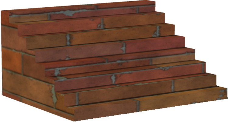 brick steps png