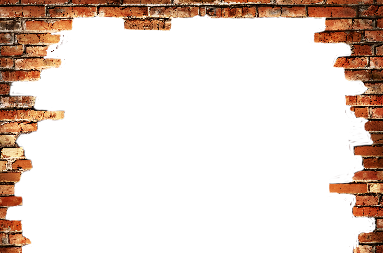 Brick wall hole png. In a transprent free