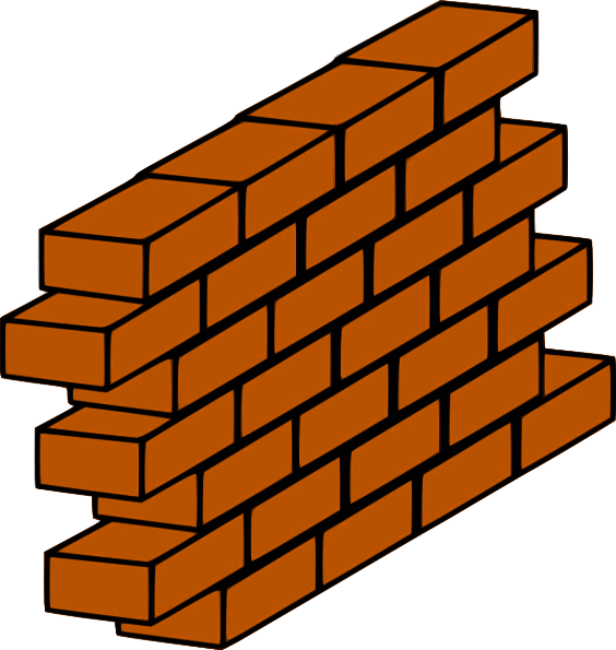 Brick wall png. Clip art at clker