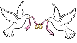 Vector doves wedding dove. Pin by on bridal