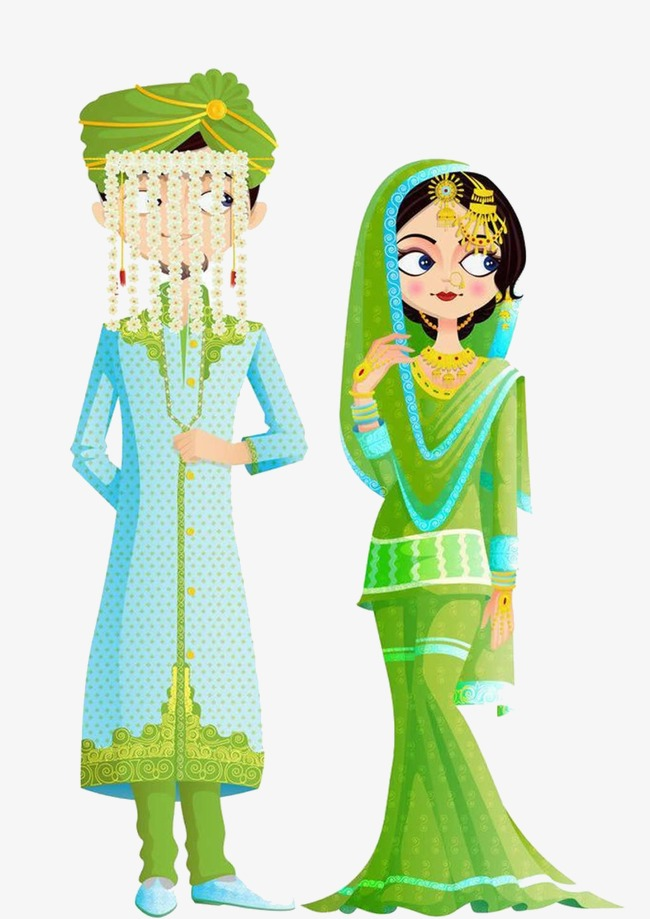 Bride clipart clothes indian. Traditional wedding dress clothing