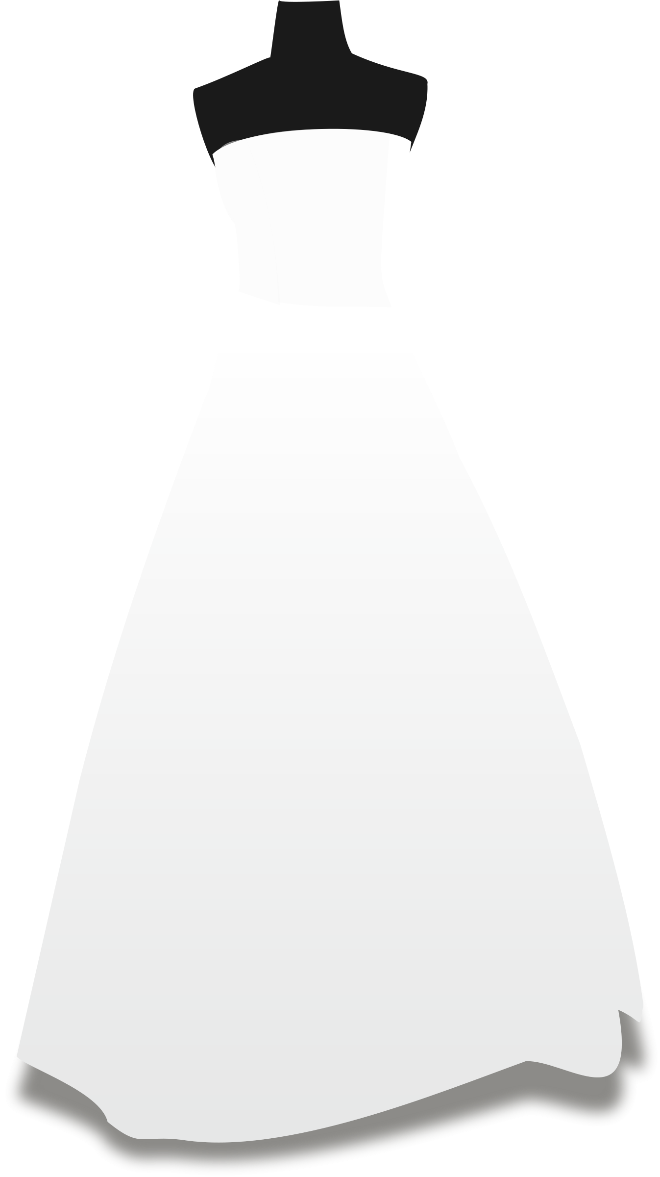 Bride dress png. Wedding clipart panda free