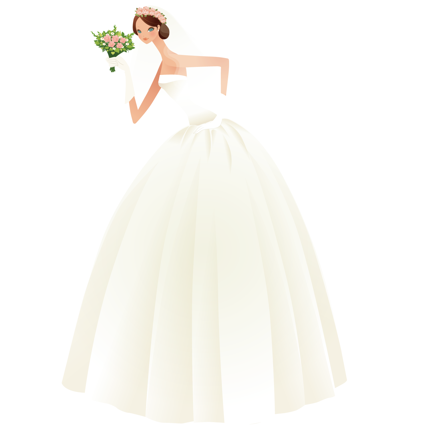 Bride dress png. Wedding the most beautiful