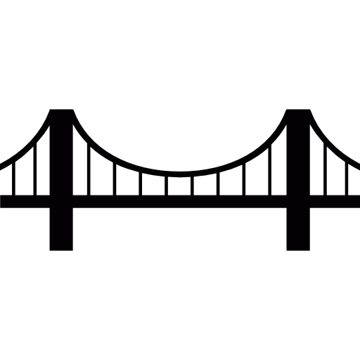 Bridge clipart no background. California icon png clipart