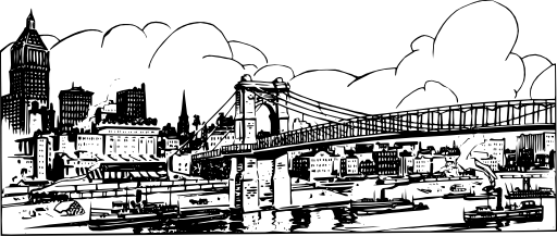 bridge clipart city bridge