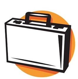 Briefcase clipart. Free