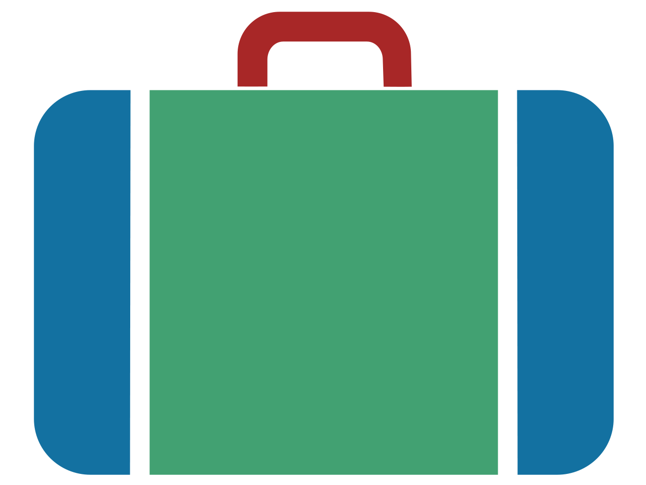 Briefcase clipart blue. Free luggage icon download