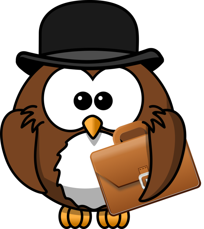 Briefcase clipart cartoon. Owl twilight sparkle drawing