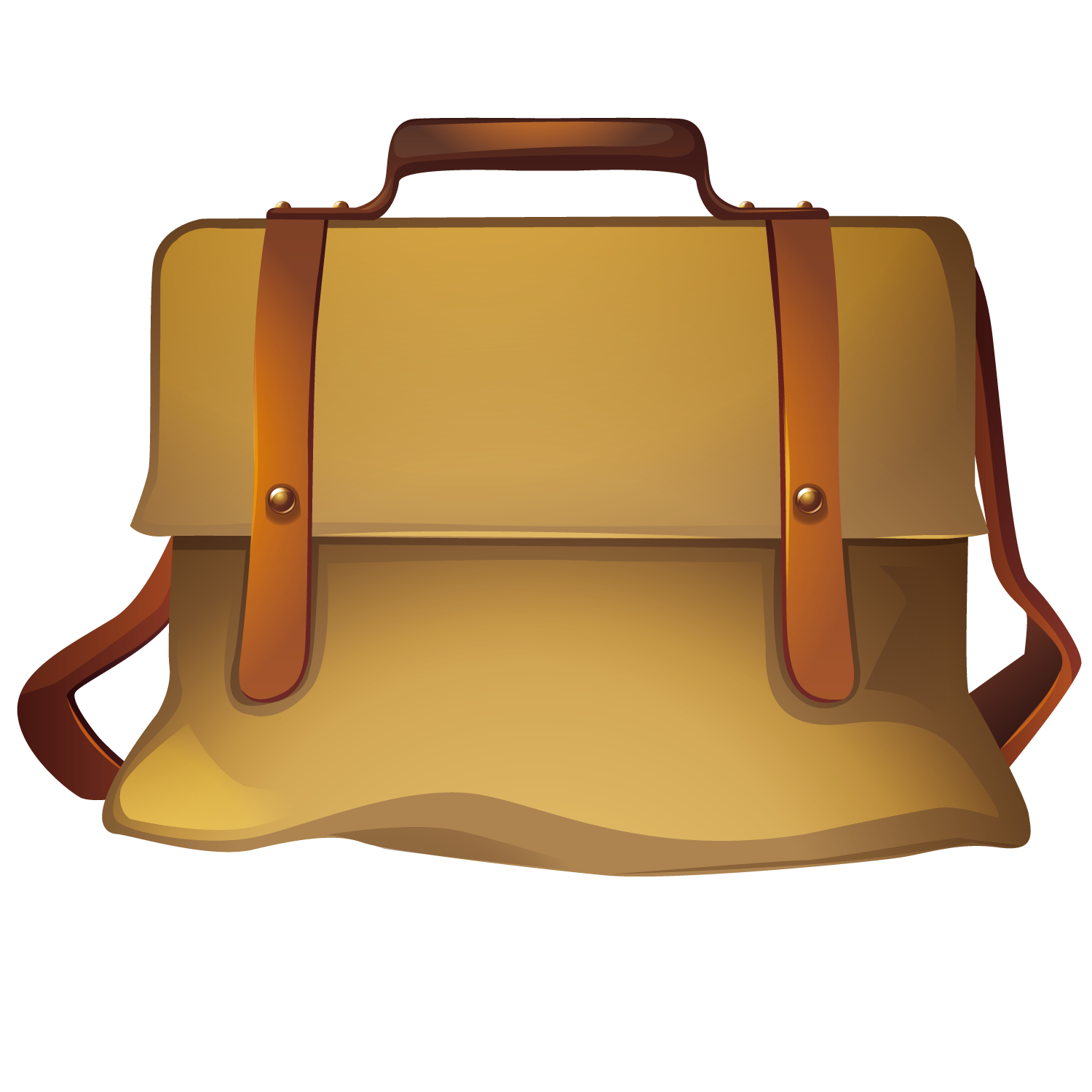 Briefcase clipart cartoon. Lady with bag of