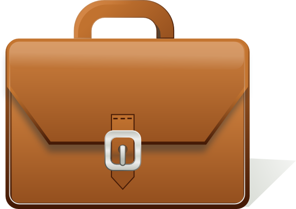 Briefcase clipart cartoon. Clip art at clker