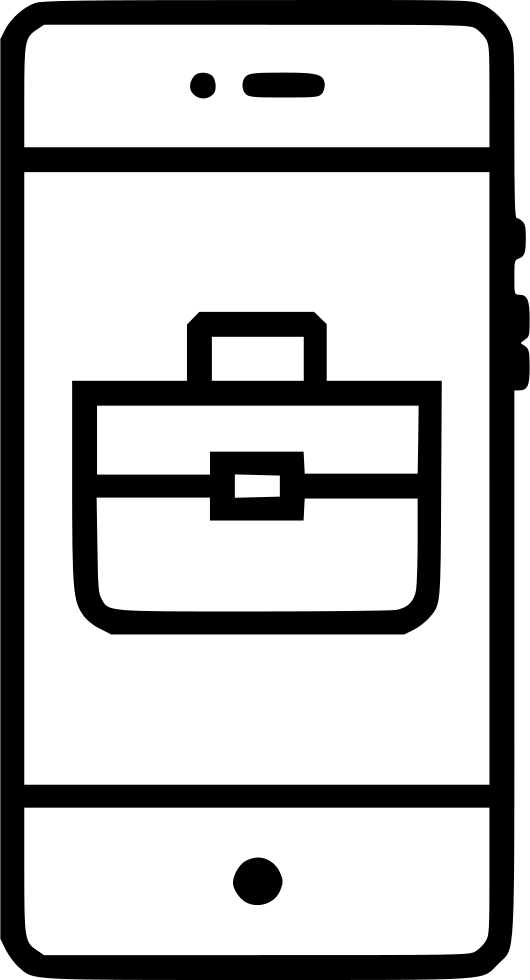 Briefcase clipart portfolio. Bag suitcase business work