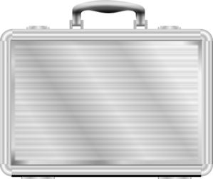 steel briefcase png