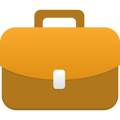 Cartoon briefcase png. Icon flatastic iconset custom