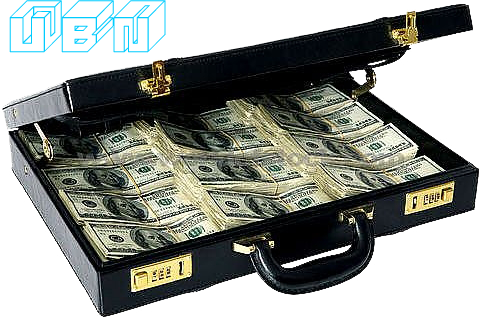 Briefcase money png. With psd official psds