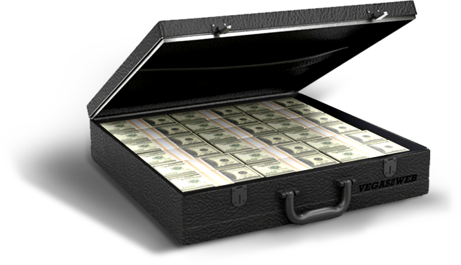 Briefcase of money png. Extra casino stash cash