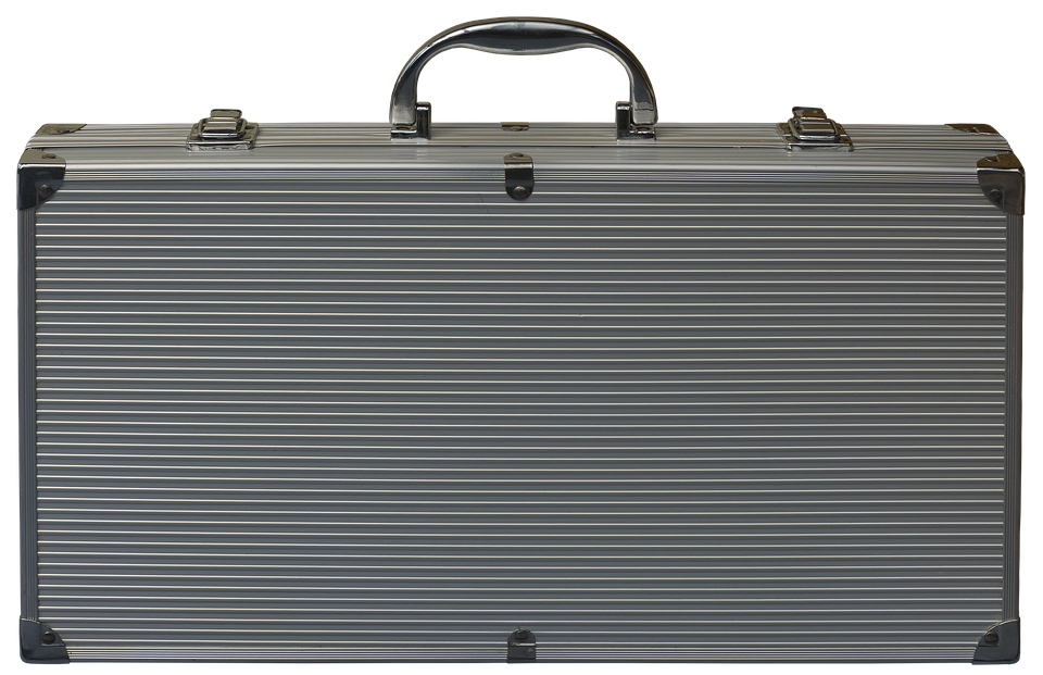 Briefcase of money png. Free photo suitcase aluminium