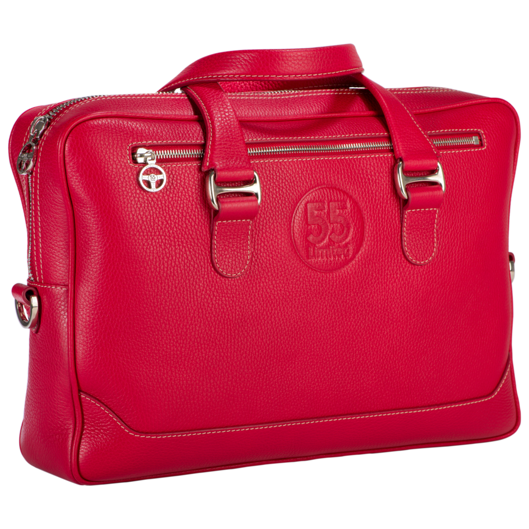 briefcase png red leather