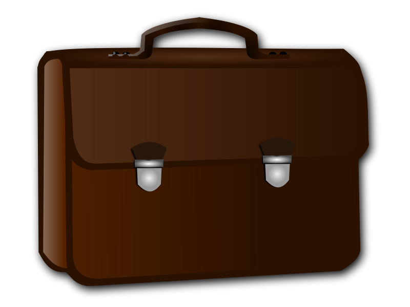 Briefcase transparent animated. Luggage png library