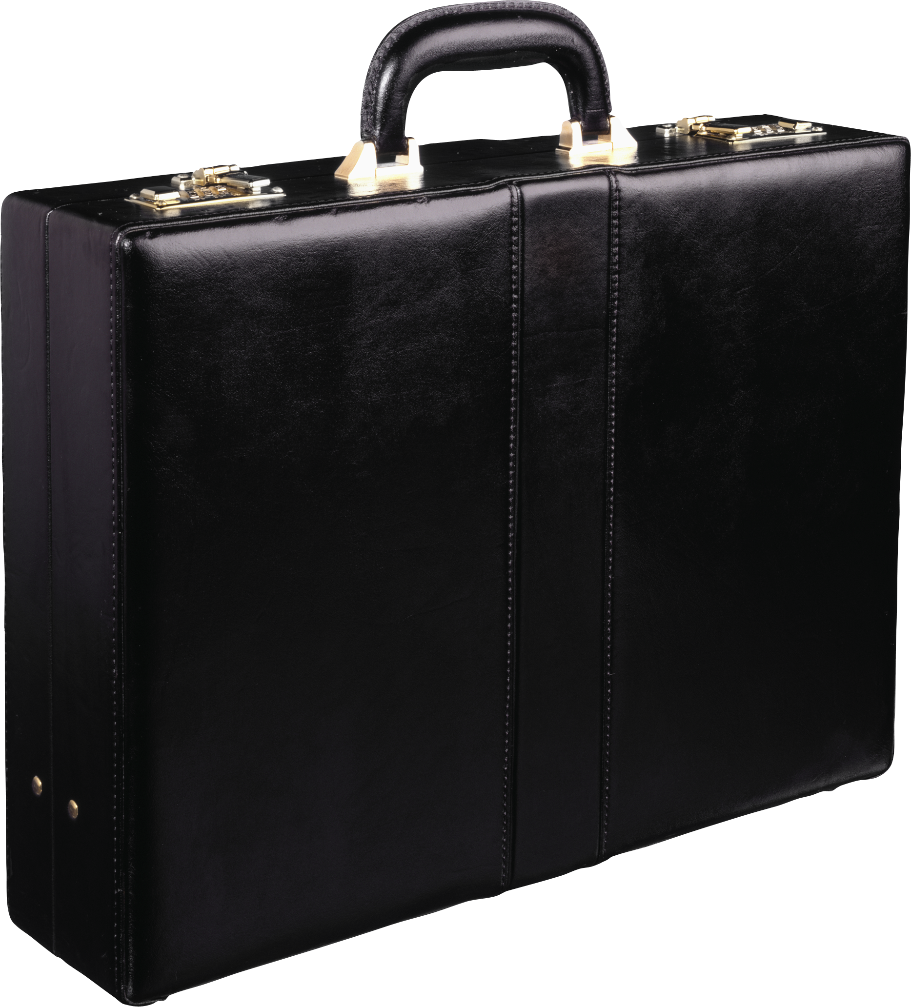 Briefcase transparent black and white. Suitcase png image purepng