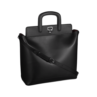 Briefcase transparent black and white. Women bag png stickpng