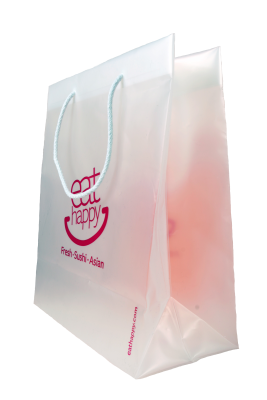 Bags promotional bagobag sushi. Briefcase transparent clear plastic vector transparent library