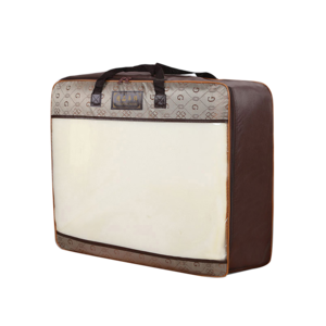 Briefcase transparent clear plastic. Quilt packing suppliers and