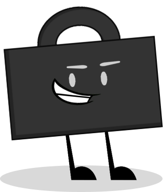 Briefcase transparent display. Image pose by yearsanimations