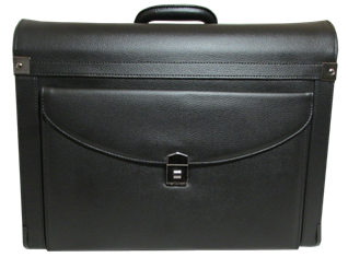 Briefcase transparent display. Coin transporting cases briefcases