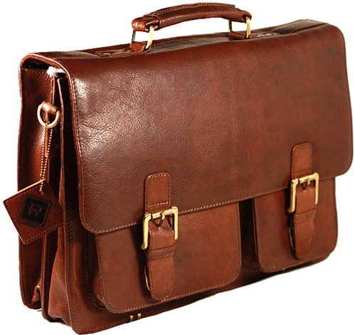 Briefcase transparent man. Leather bag men bags