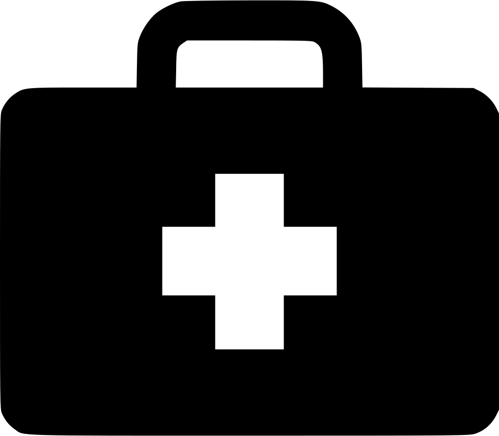 Briefcase vector png. Medical svg icon free