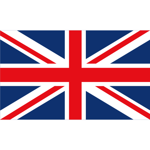 British flag png. Fill multicolor icon with
