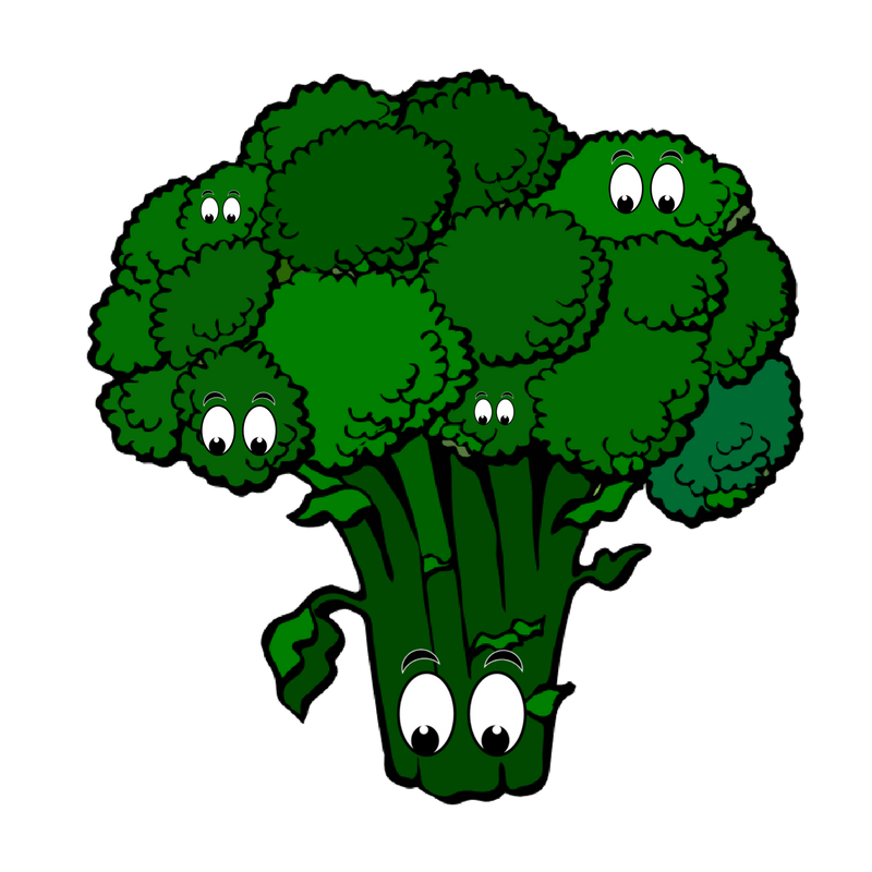 Broccoli clipart cooked. Brain food cooking with