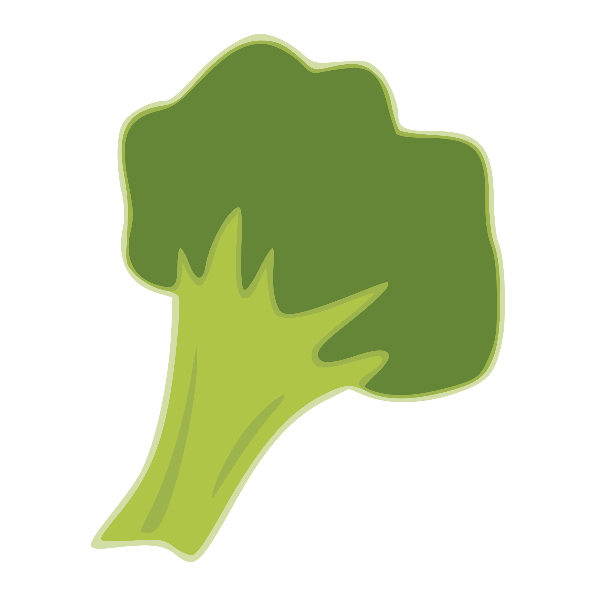Broccoli clipart svg. File by yamachem wikimedia