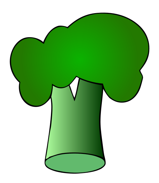 Broccoli clipart svg. File wikimedia commons filebroccolisvg