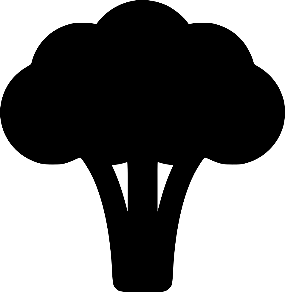 Broccoli clipart svg. Png icon free download