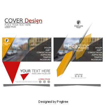 Vector magazines graphic designing. Book cover png images
