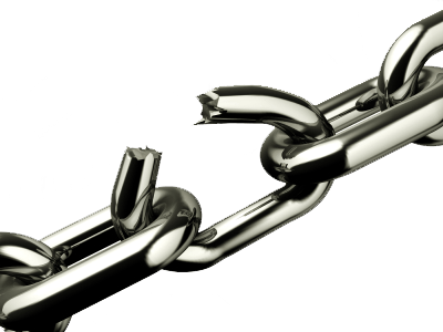 chains breaking png