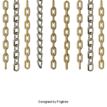 Vector s chain. Shackles png vectors psd