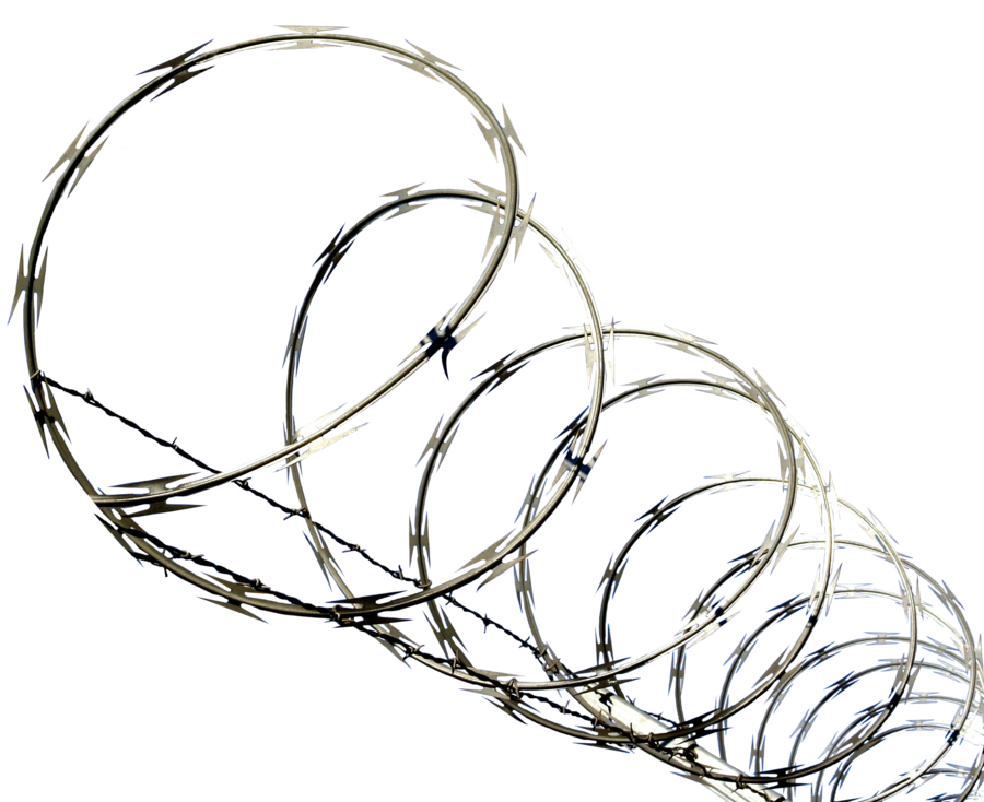 Razor wire png. By fotoshopic on deviantart