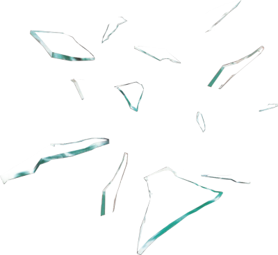 Broken glass pieces png. Transparent i got it