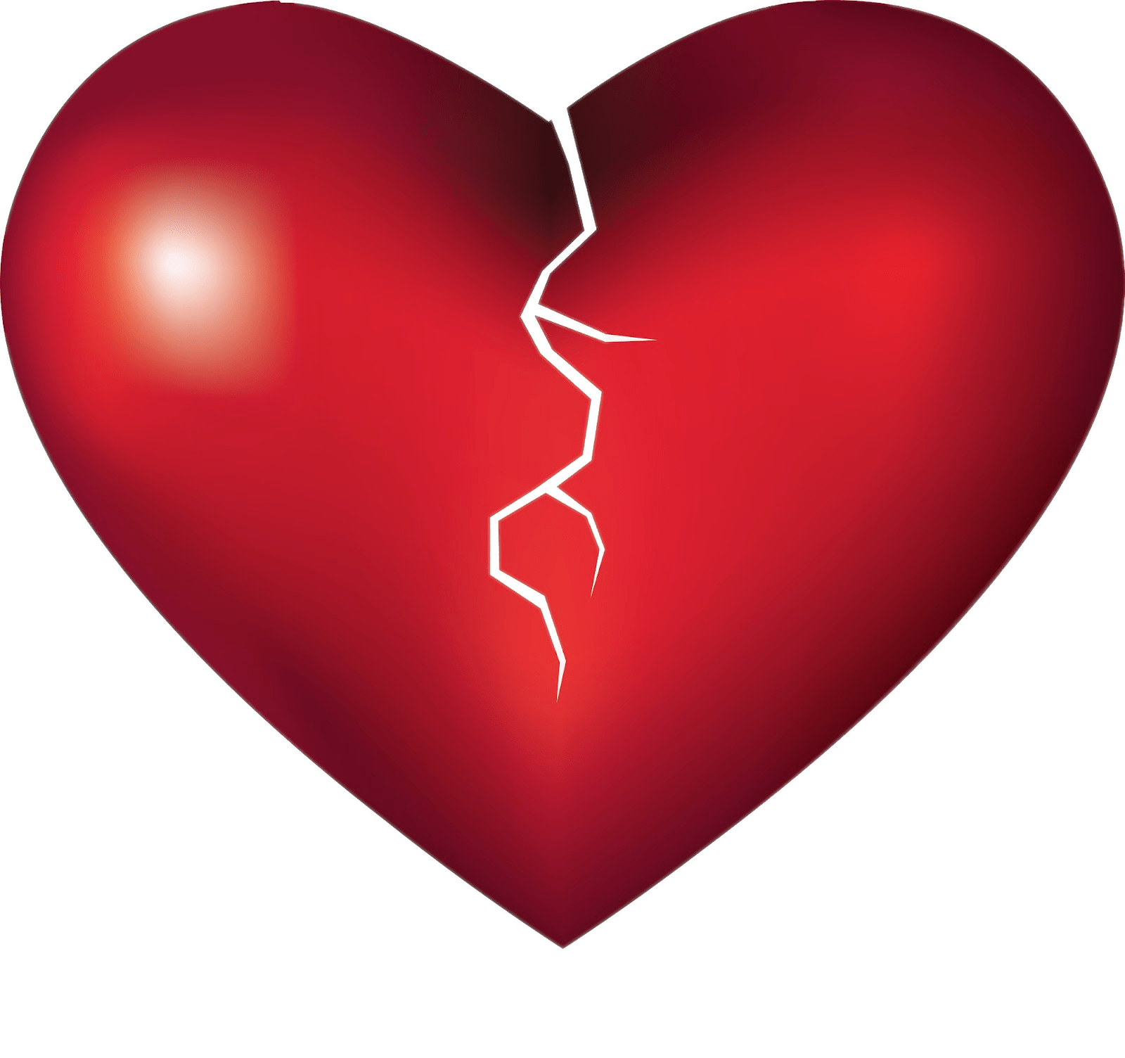 Hearts transparent png. Breaking heart stickpng