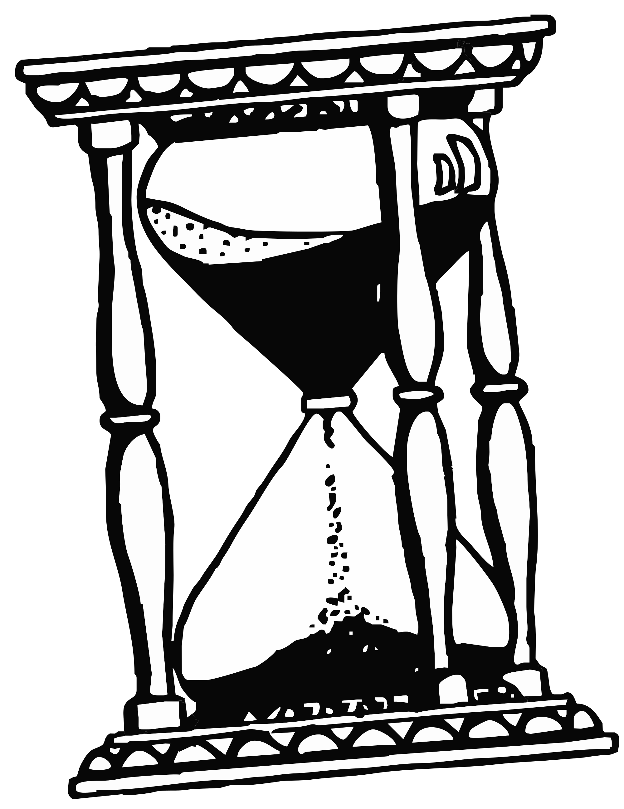 Broken hourglass png. File drawing svg wikimedia